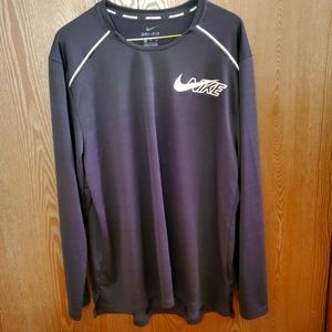 Nwot Nike Milar running long sleeve dri fit